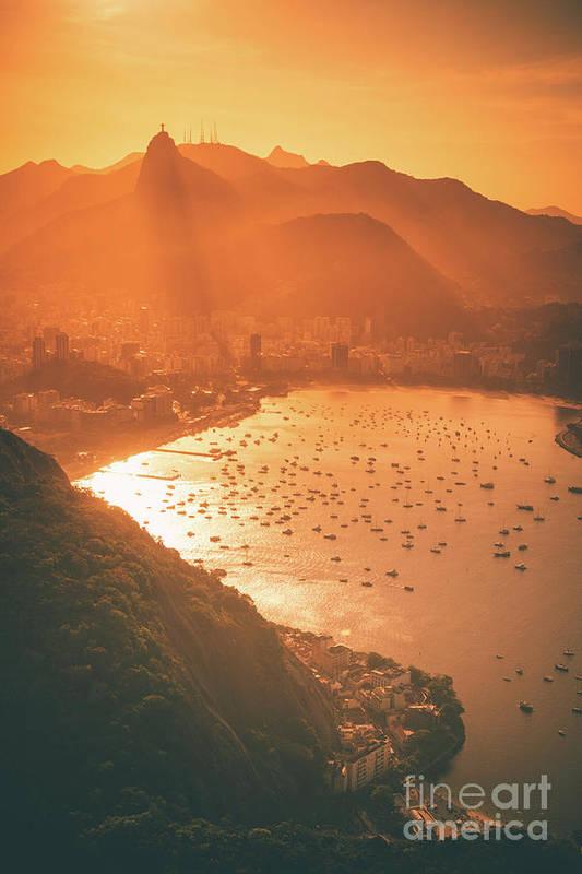 Rio De Janeiro Art Print featuring the photograph Nostalgia by Rami Ruhman