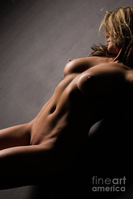 Woman Art Print featuring the photograph Nude Art No.11 by Manuel Dethlefsen