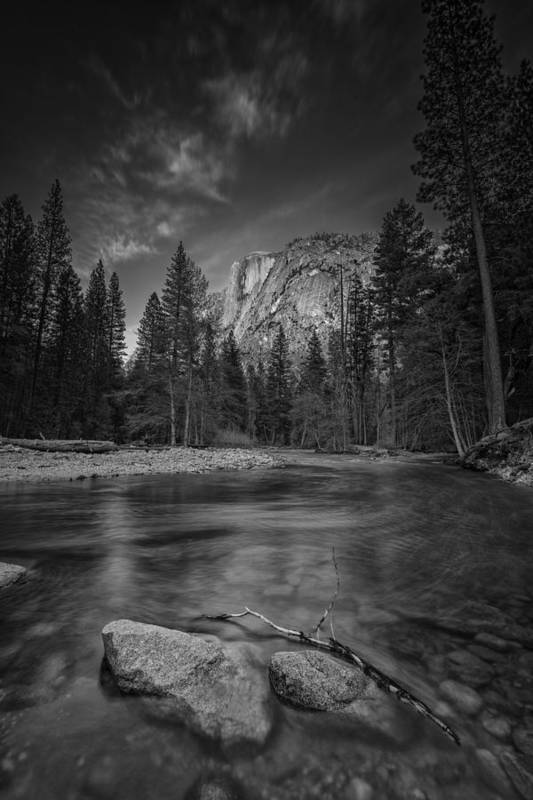 Half Dome Art Print featuring the photograph Ode To Ansel Adams by Rick Berk
