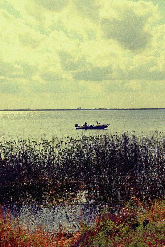 Boat Art Print featuring the photograph On A Sunny Sunday Afternoon by Susanne Van Hulst