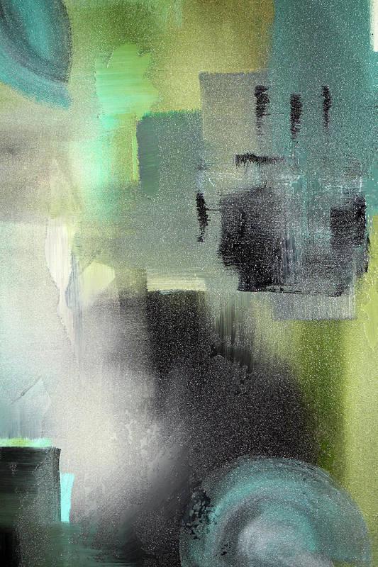 Acrylic Art Print featuring the painting Open Window 2 by Paul Harrington
