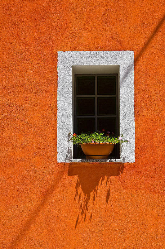 Orgosolo Art Print featuring the photograph Orgosolo Window by John Daly