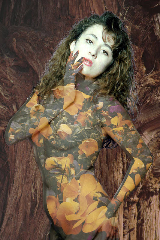 Model Art Print featuring the photograph Painted Lady by Richard Henne