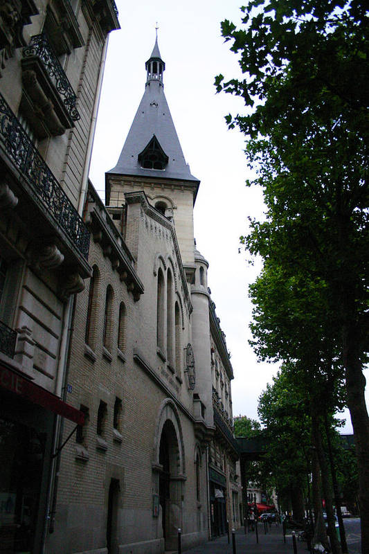 Art Print featuring the photograph Paris Church 2 by Jennifer McDuffie
