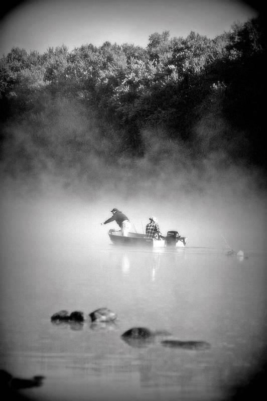 Black & White Art Print featuring the photograph Pass Time by Roberta Gennaci-Attalla