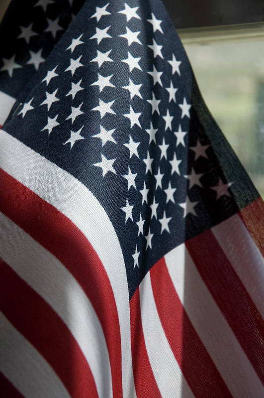 United States Art Print featuring the photograph Patriotism by Jerry McElroy