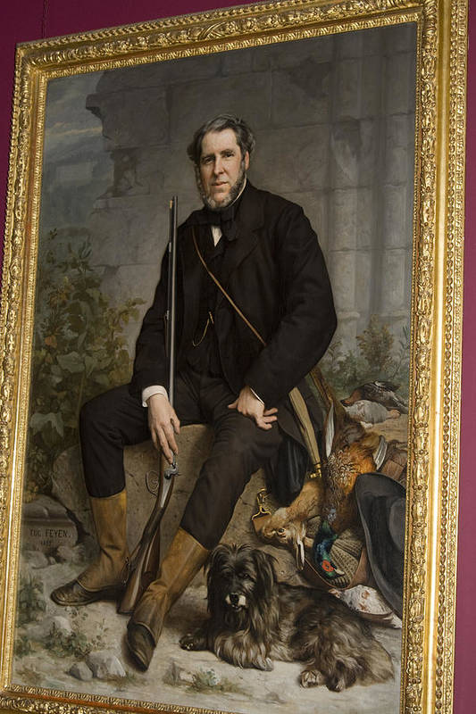 Distinguished Art Print featuring the painting Portrait Of John Bowes by Carl Purcell