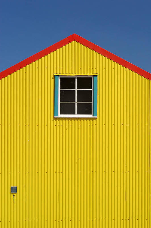 Architecture Art Print featuring the photograph Primary Colors by Gary Zuercher