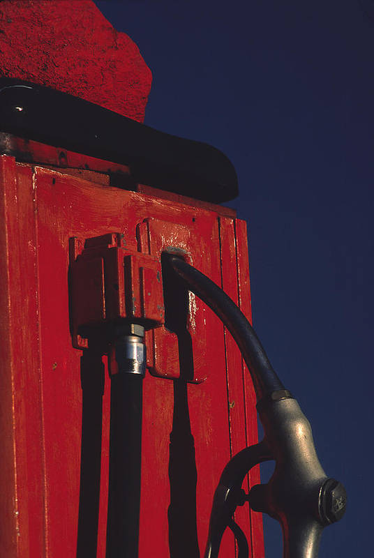 Gas Pump Art Print featuring the photograph Pump by Art Ferrier