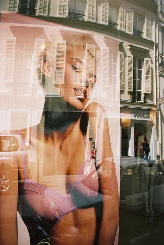 Reflection Art Print featuring the photograph Reflections Of Paris by Alex Kantor