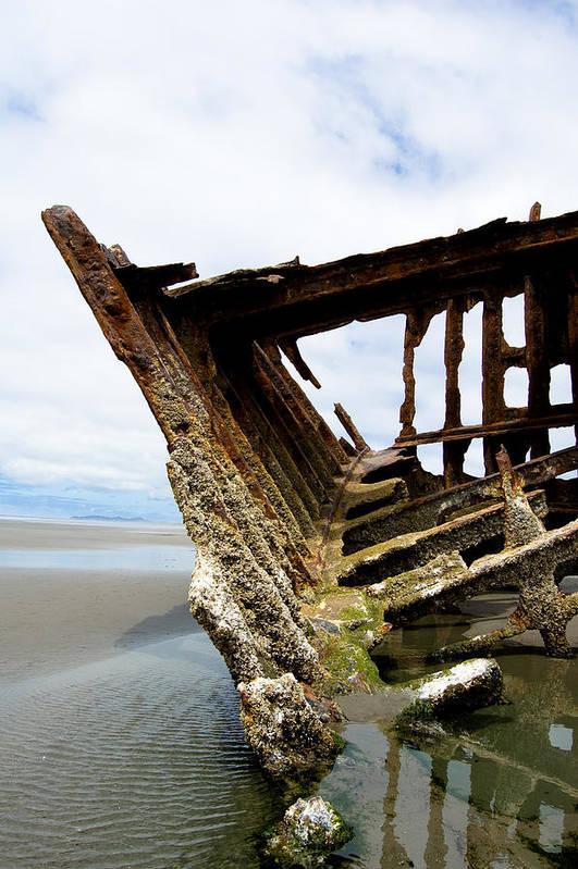 Shipwreck Art Print featuring the photograph Ripple Effect by Jennifer Owen