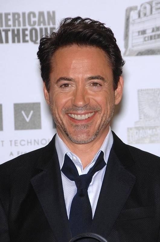Robert Downey Jr. Print featuring the photograph Robert Downey Jr. In Attendance by Everett