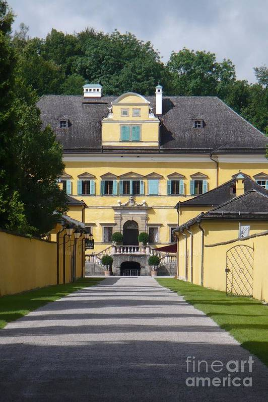 Austria Art Print featuring the photograph Salzburg Chateau by Carol Groenen