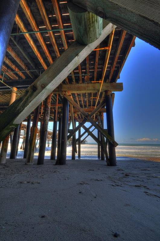 San Clemente Pier Art Print featuring the photograph San Clemente Pier by Kelly Wade