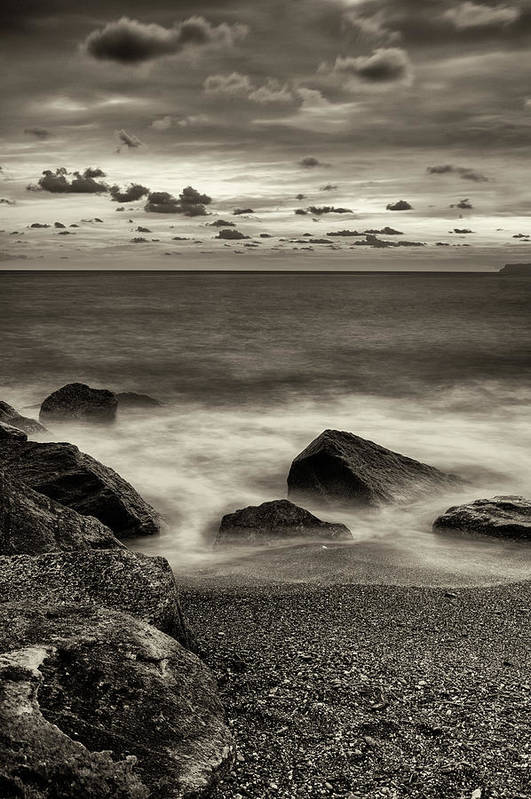 Beach Art Print featuring the photograph Seaside by Claudio Bergero