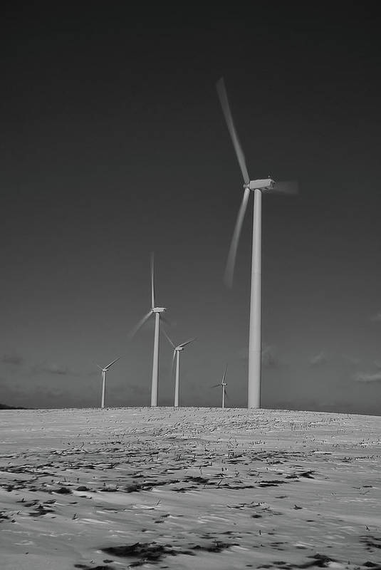 Wind Art Print featuring the photograph Sheldon Wind Farm 14955 by Guy Whiteley