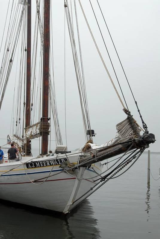 Sailing Ship Art Print featuring the photograph Ship 21 by Joyce StJames