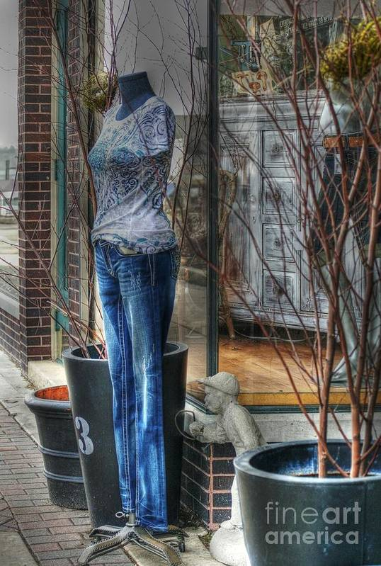 Mannequin Art Print featuring the photograph Size Six by David Bearden