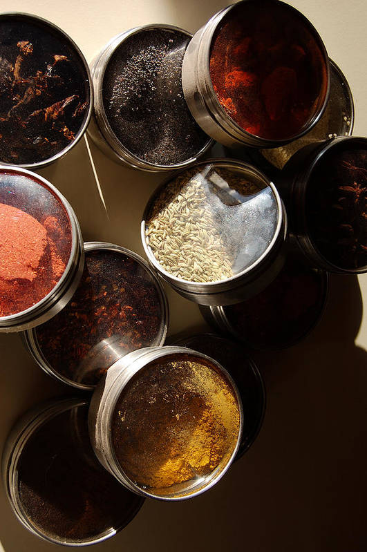 Photography Art Print featuring the photograph Spices by Heather S Huston