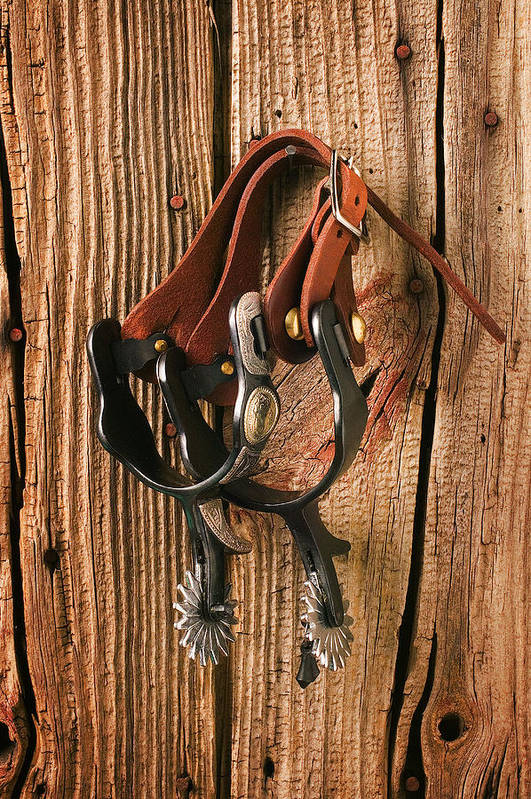 Spur Art Print featuring the photograph Spurs by Garry Gay