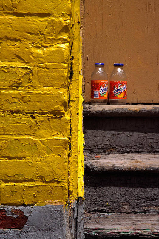 Montreal Art Print featuring the photograph Still Life With Snapple by Art Ferrier