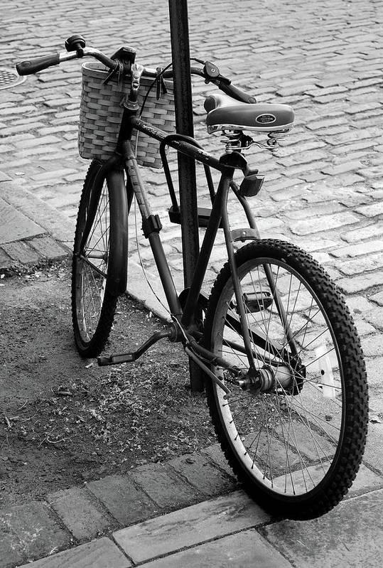 Bike Art Print featuring the photograph Street Bike by Skip Willits