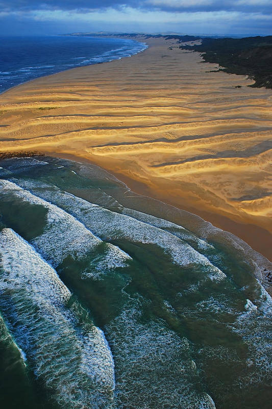 Coast Art Print featuring the photograph Sun Rise Coast by Skip Hunt