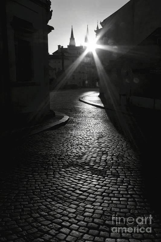 Prague Art Print featuring the photograph Sunrise At Prague by Hideaki Sakurai