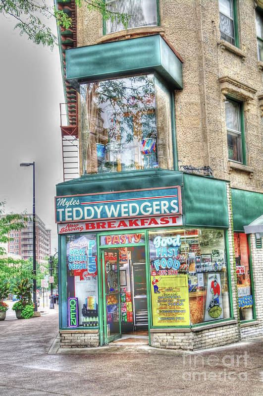 Madison Wisconsin Art Print featuring the photograph Teddywedgers by David Bearden