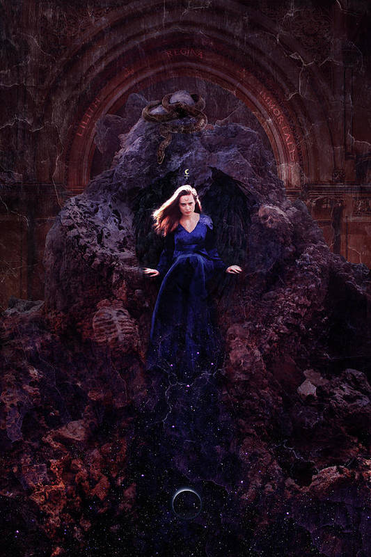 Temple Of Lilith Art Print