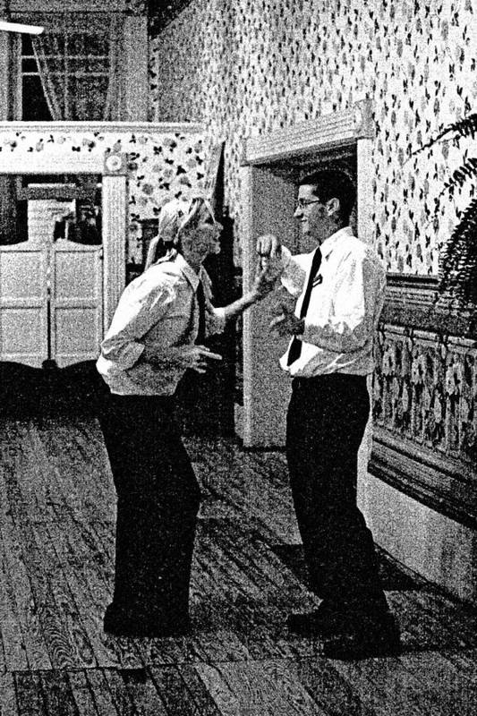 Dance Art Print featuring the photograph The Help by John Toxey