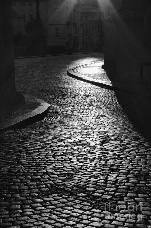 Pathway Art Print featuring the photograph The Pathway Leading To The Light by Hideaki Sakurai