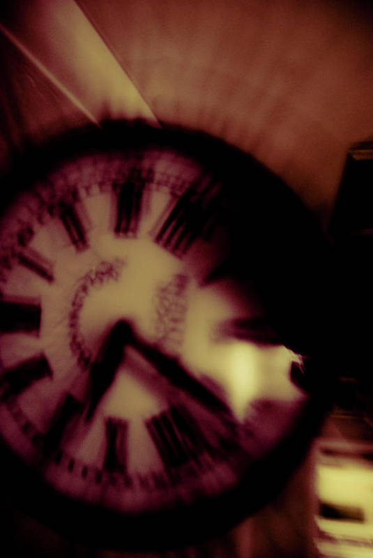 Time Art Print featuring the photograph Time Ix by Grebo Gray