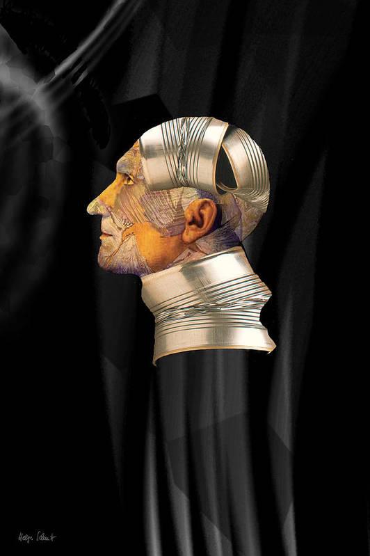 Fantasy Art Print featuring the digital art Tinman by Helga Schmitt