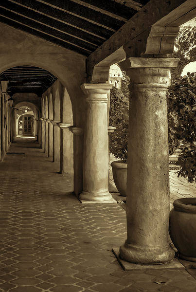 Tlaquepaque Art Print featuring the photograph Tlaquepaque by Jon Burch Photography