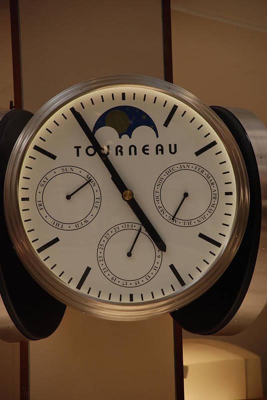 Clock Art Print featuring the photograph Tourneau by Rob Hans