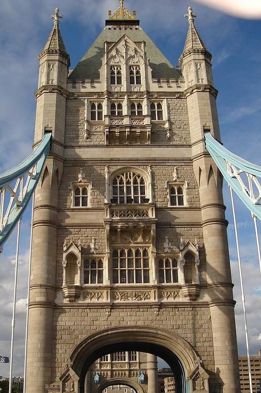Tower Bridge Art Print featuring the photograph Tower Bridge by Kimberly Hill
