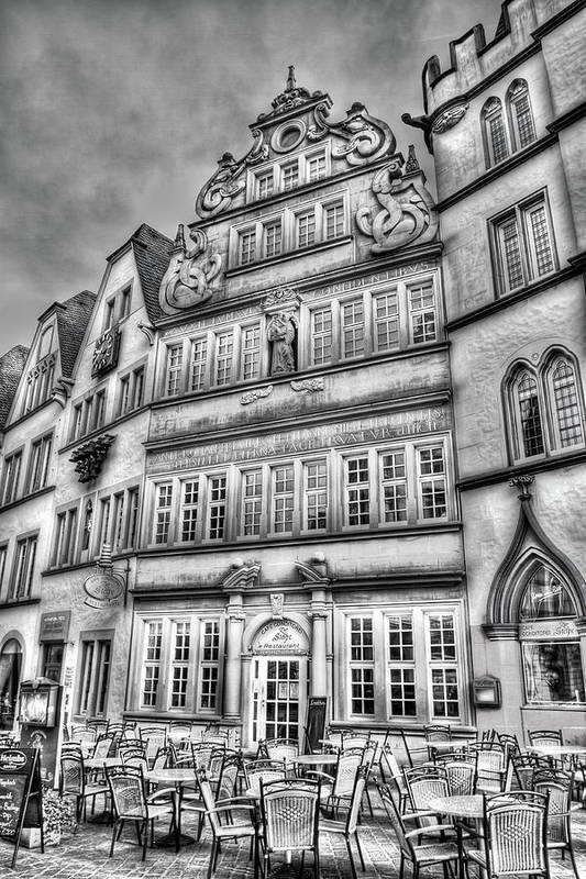 Trier Germany Art Print featuring the photograph Trier Germany by Bill Lindsay
