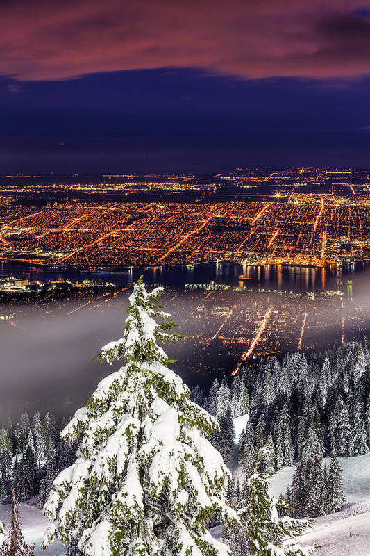 Vancouver Art Print featuring the photograph Vancouver City View by Pierre Leclerc Photography