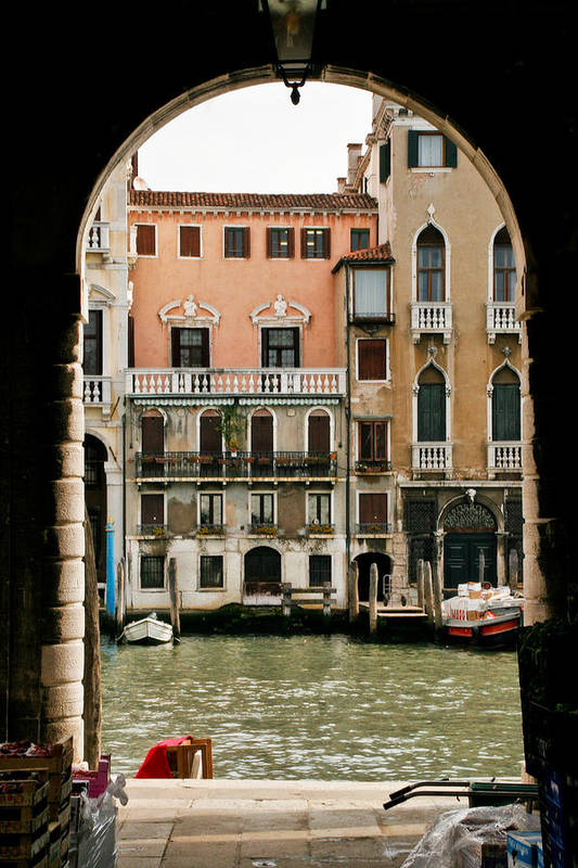 Venice Art Print featuring the photograph Venice by Carl Jackson