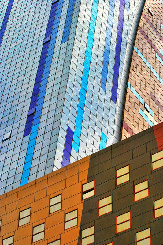 Architecture Art Print featuring the photograph Weston Hotel Nyc by Chuck Kuhn