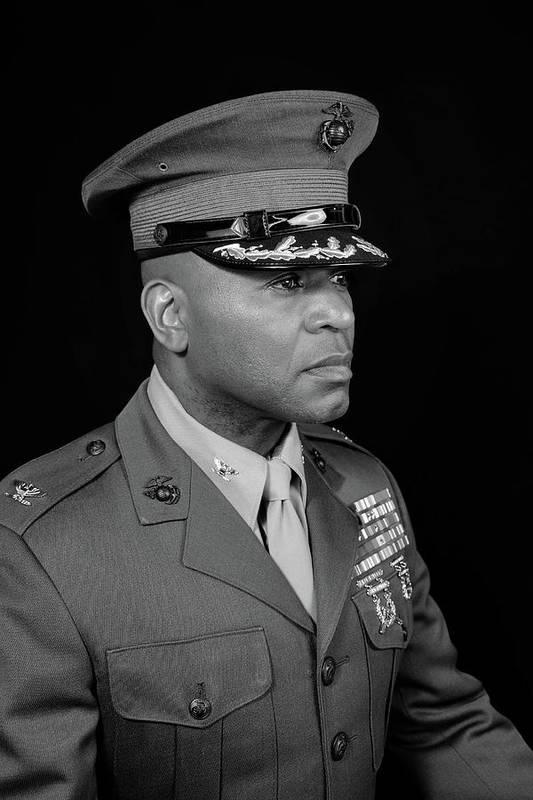 Art Print featuring the photograph Colonel Trimble by Al Harden