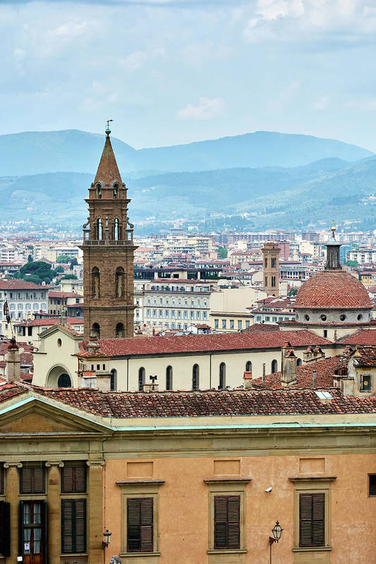 Medieval cityscape in Florence