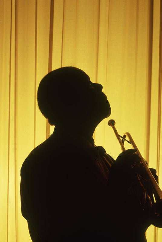 Timeincown Art Print featuring the photograph Portrait Of Louis Armstrong by John Loengard