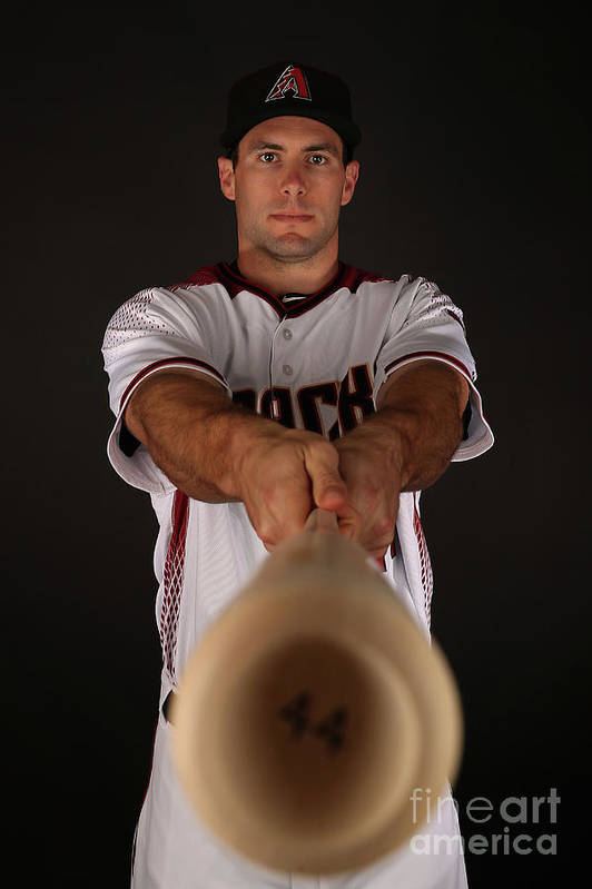 Media Day Art Print featuring the photograph Paul Goldschmidt by Christian Petersen