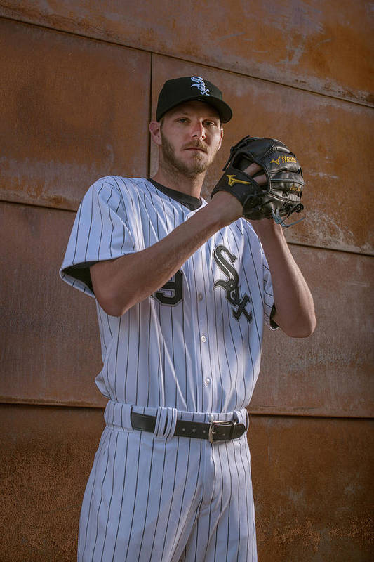 Media Day Art Print featuring the photograph Chris Sale by Rob Tringali