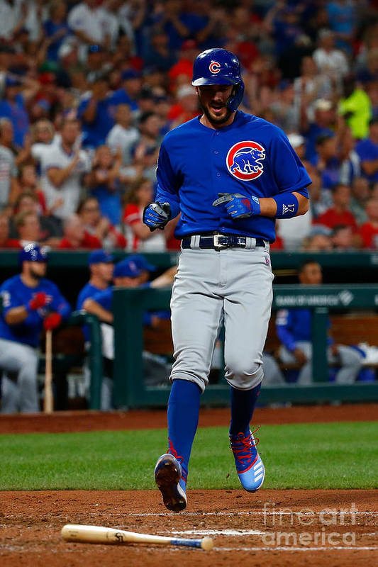 People Art Print featuring the photograph Kris Bryant by Dilip Vishwanat