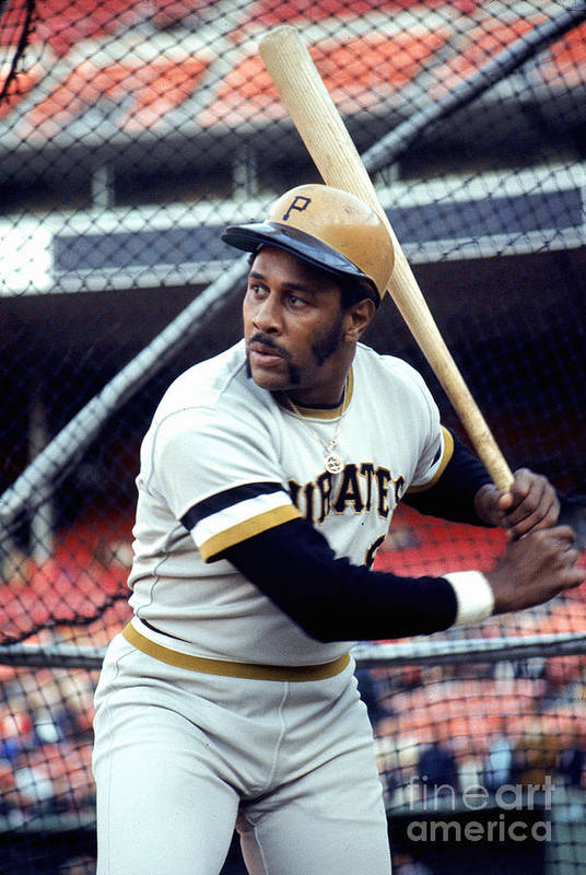 Baseball Cage Art Print featuring the photograph Willie Stargell by Michael Zagaris