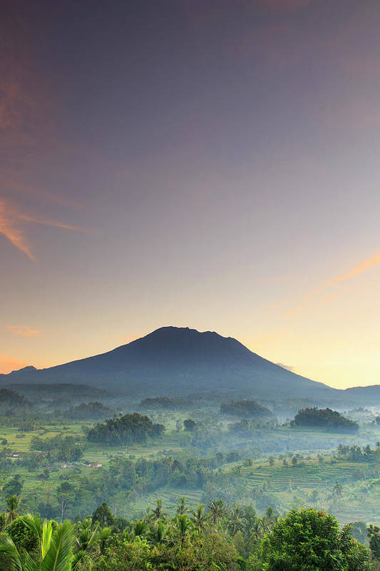 Scenics Art Print featuring the photograph Indonesia, Bali, Rice Fields And by Michele Falzone