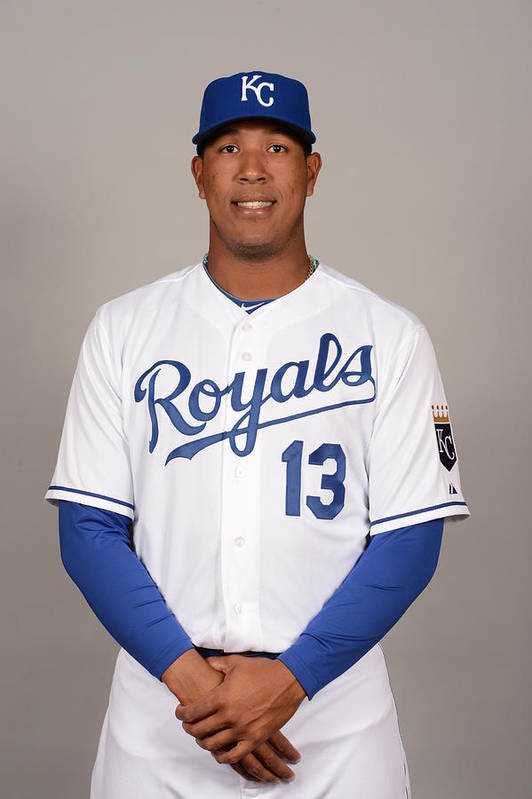 Media Day Art Print featuring the photograph 2014 Kansas City Royals Photo Day by Robert Binder